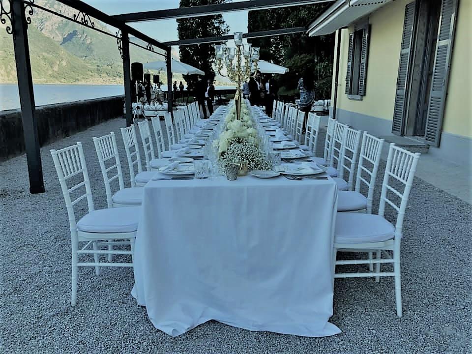 Vestuvės prie Komo ežero
